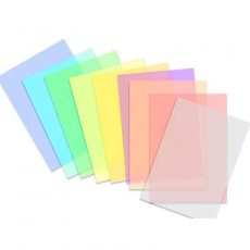 Kolorowe maski - poszczególne kolory