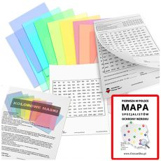 Kolorowe maski zestaw diagnostyczny