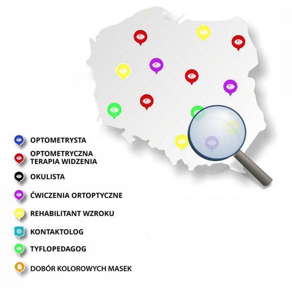 Mapa gabinetów