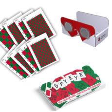 SpyEy stereoskop karty odtłumiające