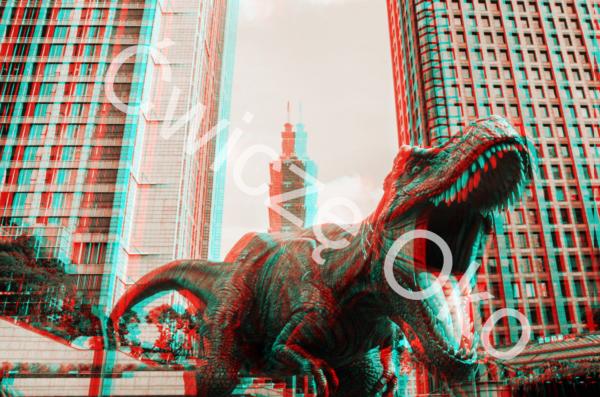 widzieć głębiej dinozaur