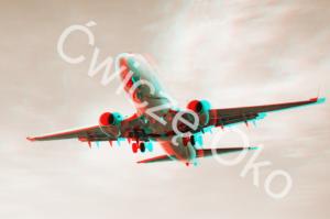 widzieć głębiej samolot